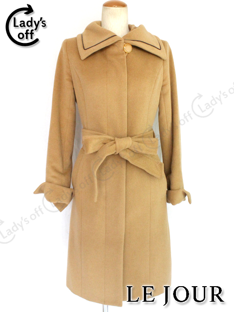 ルジュール [LEJOUR] 襟付き 厚手コート