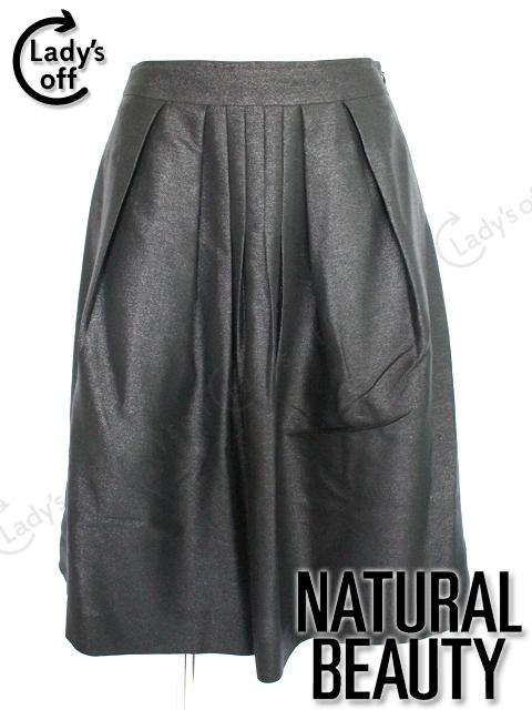 ナチュラルビューティー [NATURAL BEAUTY] フレアー スカート