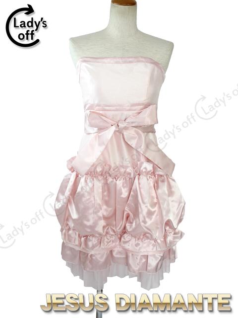 ジーザスディアマンテ[JESUSDIAMANTE] リボンベアワンピ [ 40 ] ピンク ワンピース ドレス