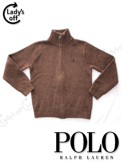 ポロラルフローレン[Polo Ralph Lauren] ジップアップ ニット