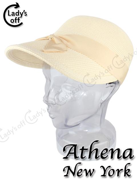 アシーナニューヨーク [Athena New York] リボン キャップ ハット