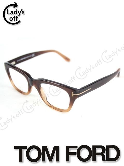 トムフォード [TOMFORD] 伊達眼鏡 メガネ ブラウンフレーム