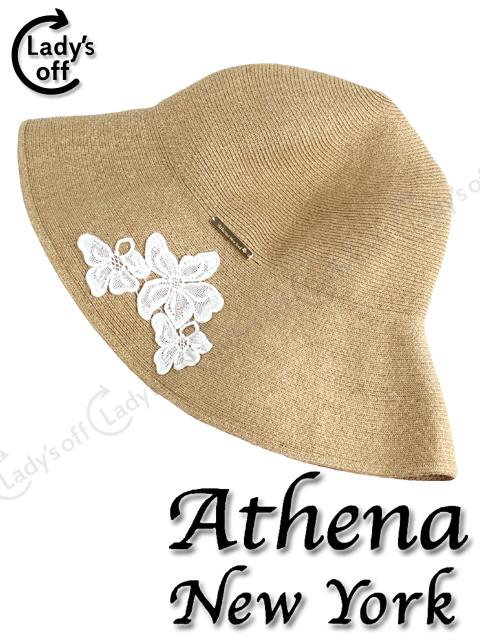 アシーナニューヨーク [Athena New York] アマンダ ストロー帽子