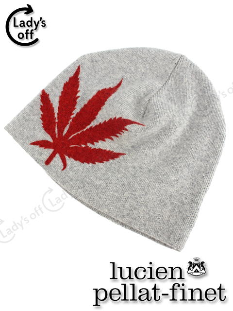 ルシアン ペラフィネ [pellat-finet] ヘンプ カシミヤ ニット帽子