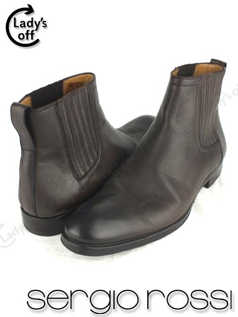 セルジオロッシ [sergio rossi] サイドゴア―ブーツ