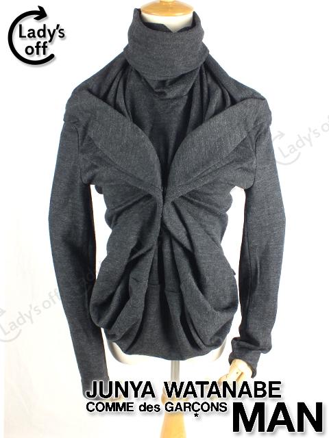 ジュンヤワタナベ [GARCONS] 変形 ニットセーター