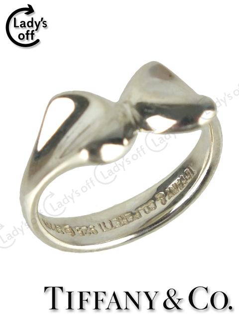 ティファニー[TIFFANY&Co] リボン リング 指輪