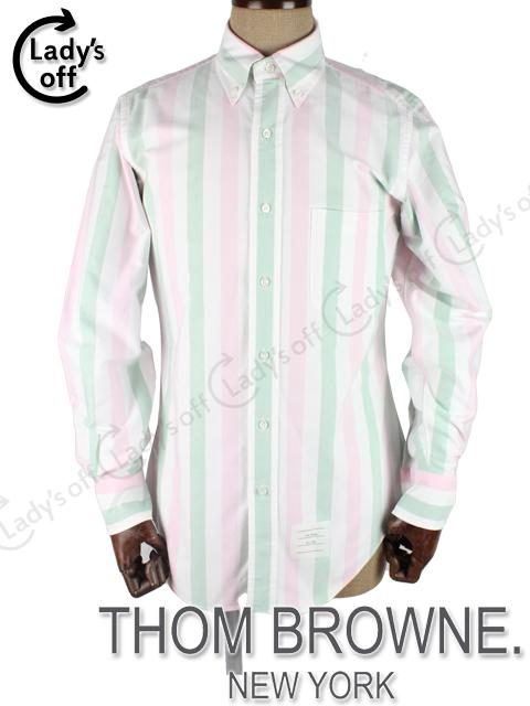 トムブラウン [ THOM BROWNE ] ボタンダウン ストライプシャツ