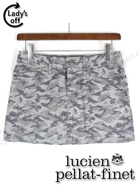 ルシアン ペラフィネ [ pellat-finet ] カモフラ ミニスカート