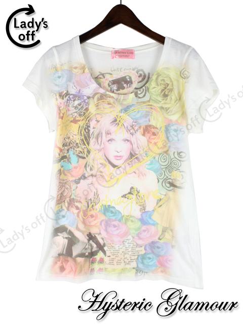 ヒステリックグラマー [ Hysteric Glamour ] COURTNEYLOVE Tシャツ 白 [F]