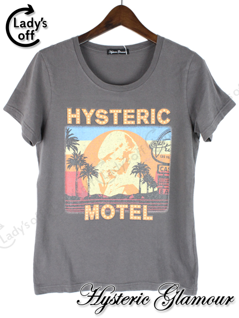 ヒステリックグラマー [ Hysteric Glamour ] MOTEL Tシャツ
