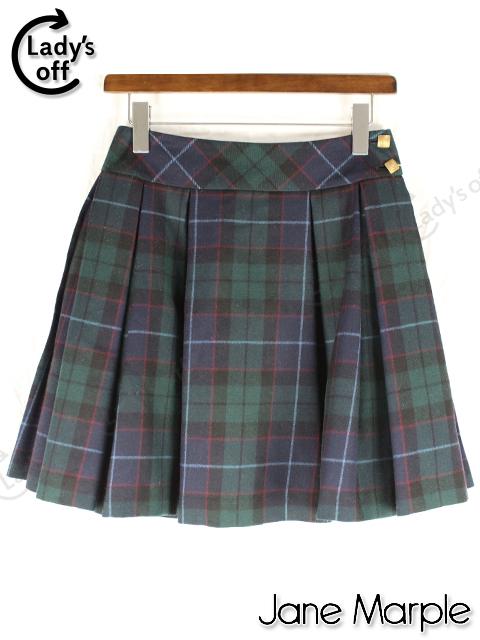 ジェーンマープル [ Jane Marple ] チェック柄 プリーツスカート