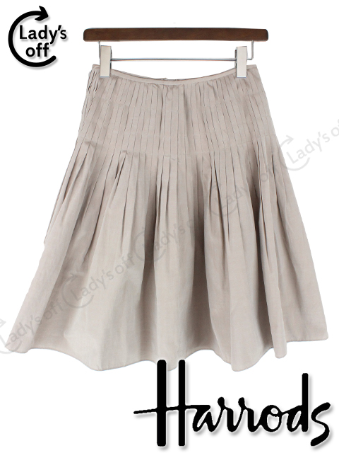 ハロッズ [ Harrods ] プリーツ フレアースカート