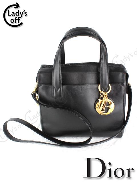 ディオール [ Dior ] レディディオール レザー バッグ 黒