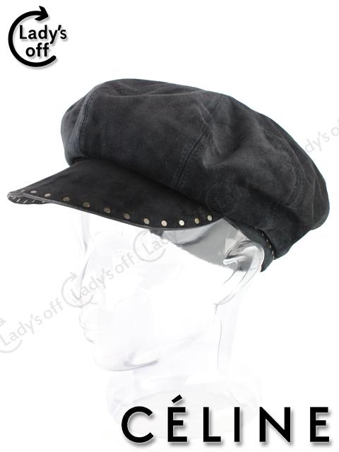 セリーヌ [ CELINE ] スタッズ キャスケット帽子