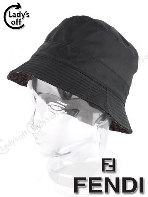 フェンディ [ FENDI ] ナイロン 帽子 黒
