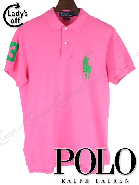 ラルフローレン [ RALPHLAUREN ] ビッグポニー ポロシャツ ピンク