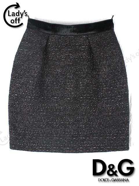 D&G [ ドルチェ&ガッバーナ ] ツイード スカート