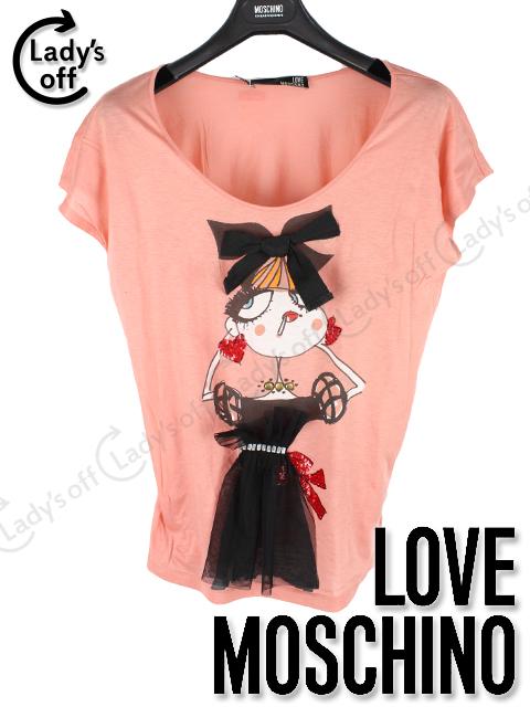 ラブ モスキーノ [ MOSCHINO ] 女の子 カットソー Tシャツ