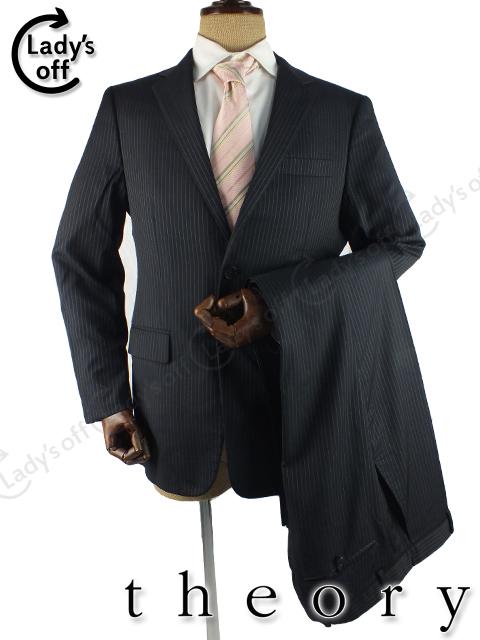 セオリー×ロロピアーナ [ theory ] ストライプ シングル スーツ