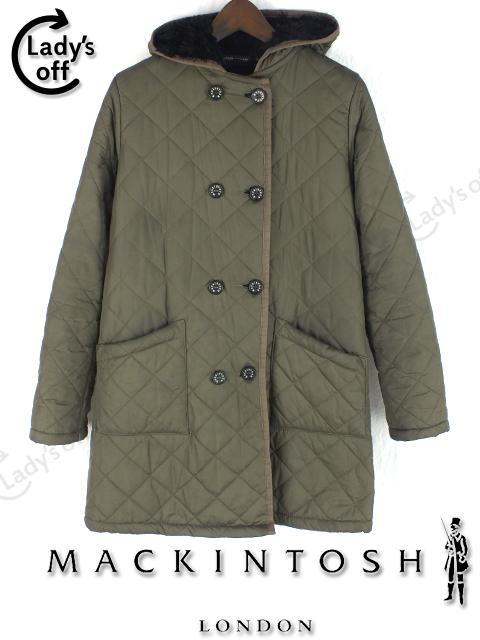 マッキントッシュ [MACKINTOSH] キルティング コート [36] トラッドルトン