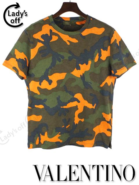 ヴァレンティノ [ VALENTINO ] カモフラ 迷彩柄 Tシャツ