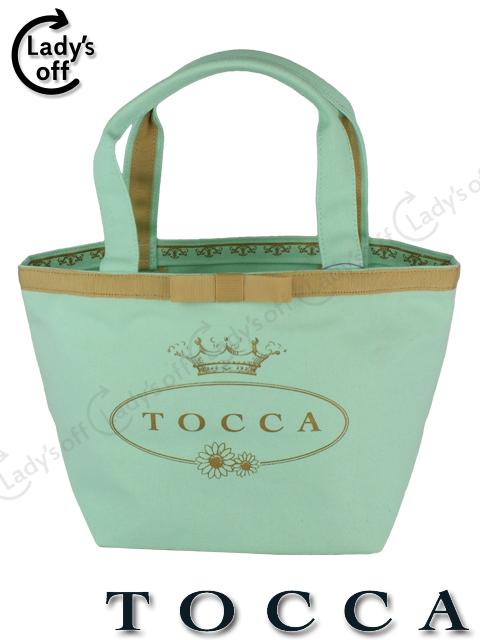 トッカ [ TOCCA ] 限定 リボン トートバッグ ブルー