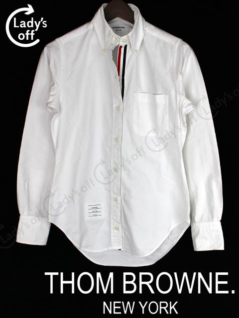 トムブラウン [ TOM BROWNE ] トリコロール ボタンダウン シャツ