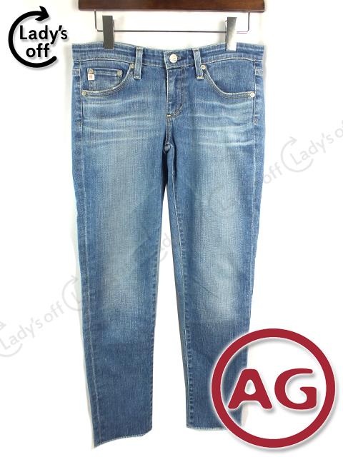 エージー [ AG ] ロールアップ デニム パンツ [26] Stilt Roll-Up
