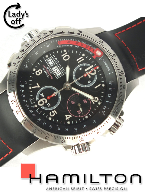 ハミルトン [ HAMILTON ] カーキ X-ウインド 腕時計 [H776460]