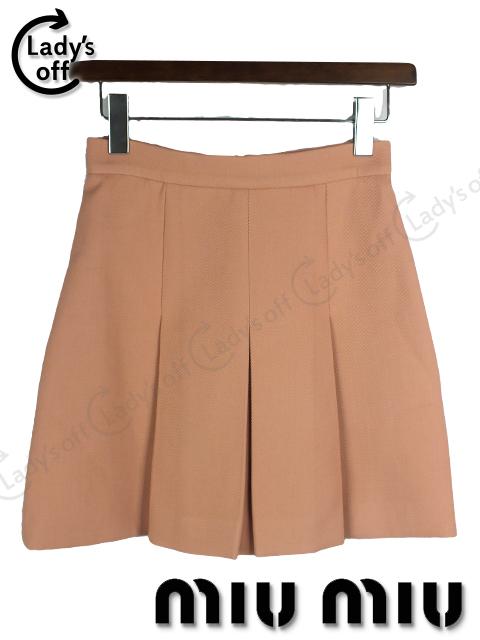 ミュウミュウ [ MIUMIU ] 2011 プリーツ スカート