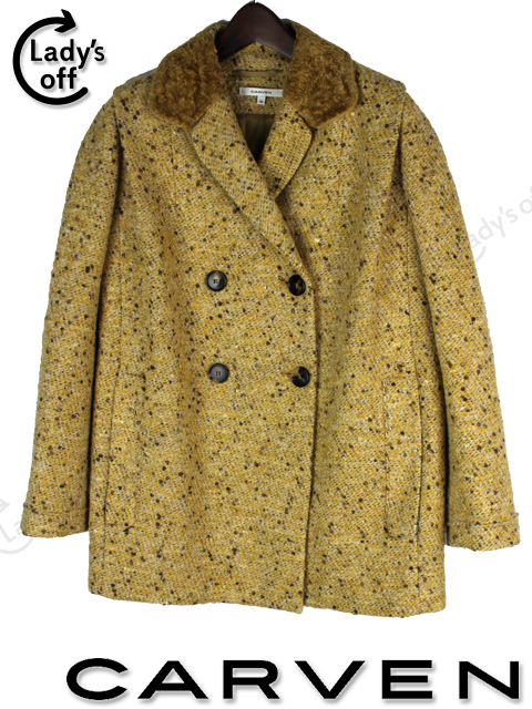 カルヴェン [ CARVEN ] 2012AW ツイード コート ジャケット