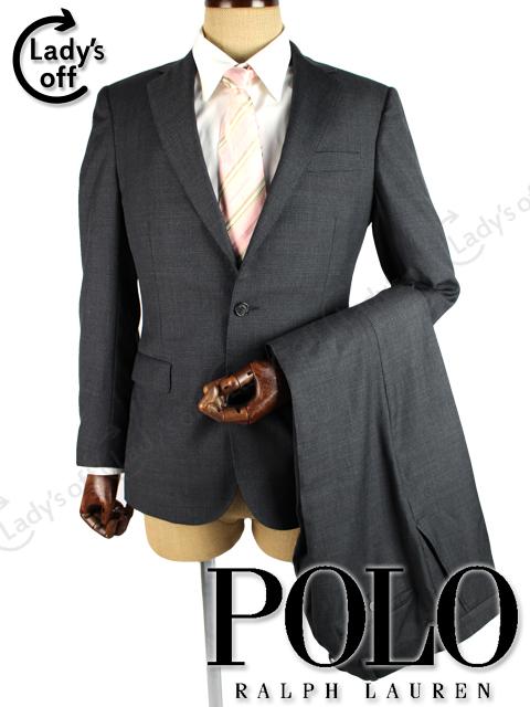 ポロ ラルフローレン [ RALPH LAUREN ] 2B チェック柄 シングル スーツ