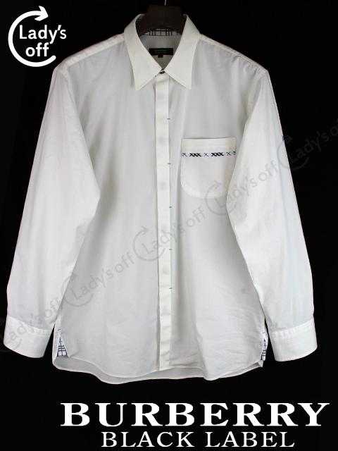 バーバリーブラックレーベル [ Burberry ] 長袖 カッター シャツ