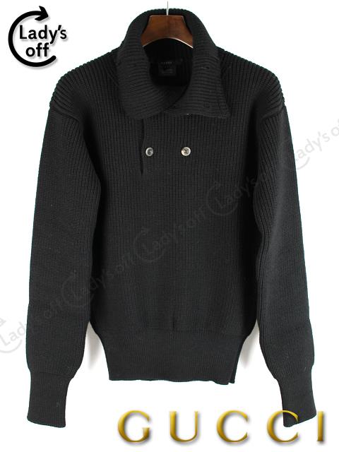 グッチ [ GUCCI ] ハイネック ニット セーター ブラック 黒 長袖
