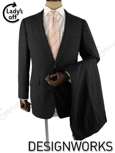 デザインワークス [ DESIGNWORKS ] 2つボタン ストライプ スーツ