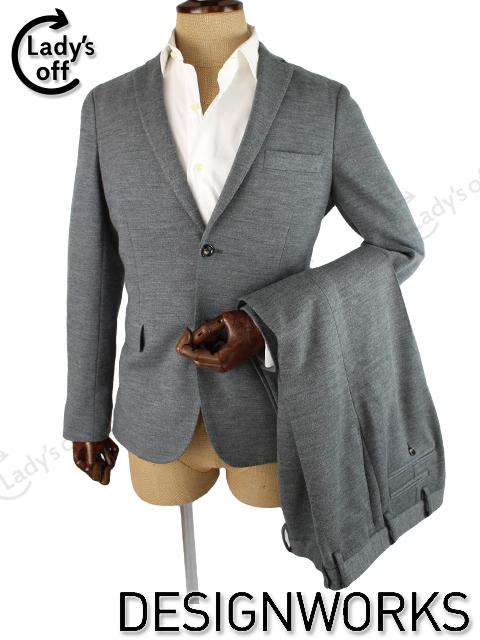 デザインワークス [ DESIGNWORKS ] 2つボタン シングル スーツ