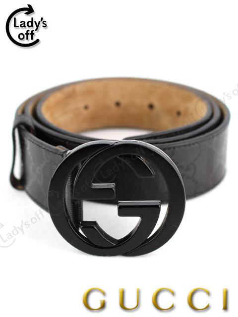 グッチ [ GUCCI ] GGインプリメ ベルト ブラック 黒 SIZE[100/40 ] メンズ 男性用 223891・214351