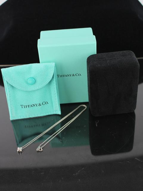 ティファニー [ TIFFANY ] ガーデンフラワー ダイヤ ネックレス PT950