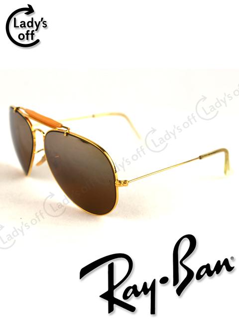 レイバン [ RayBan ] USA製 B&L ティアドロップ サングラス ブラウン
