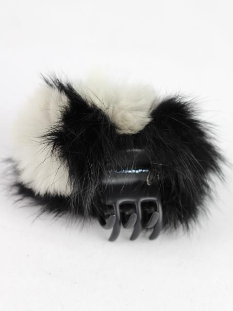コンプレックスビズ [ COMPLEX BIZ ] ファー デザートクリップ ブラック ホワイト 白 黒 ヘアアクセサリー