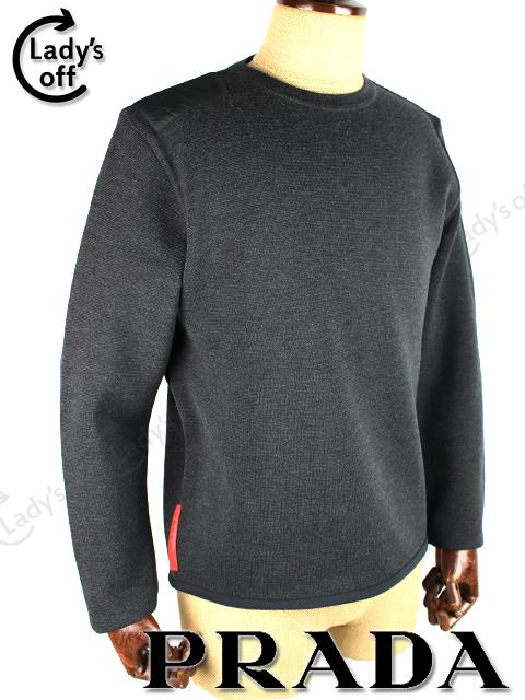 プラダスポーツ [ PRADA ] ニット セーター ブラック 黒 長袖
