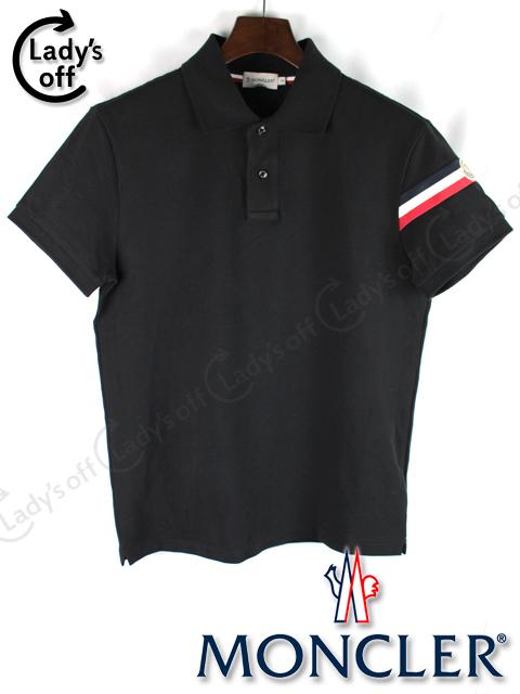 モンクレール [ MONCLER ] トリコロール ポロシャツ 半袖