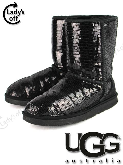 アグ [ UGG ] スパンコール ムートン ブーツ CLASSIC SHORT SPARKLES