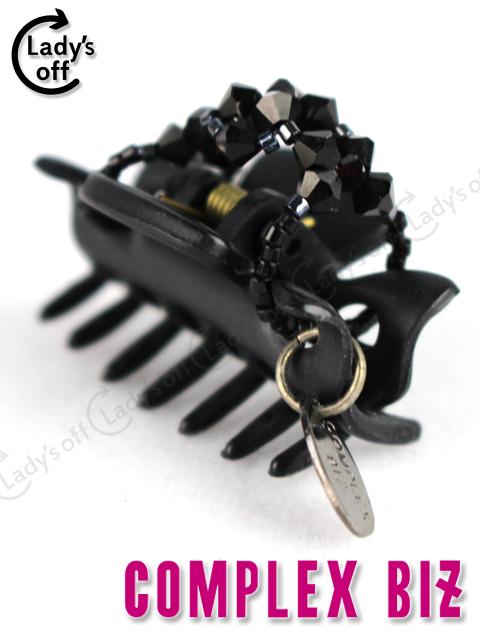 コンプレックスビズ [ COMPLEXBIZ ] フローラルアイス クリップ ブラック 黒 ヘアアクセサリー