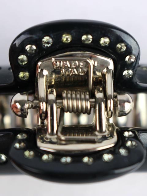 アッカ [ acca ] ティアラクィーン クリップ ブラック 黒 [小・中] 2個セット ヘアクリップ ヘアアクセサリー