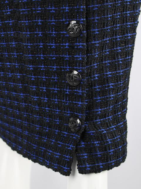 シャネル [ CHANEL ] P52 15-16年 ココマーク ツイード タイト スカート