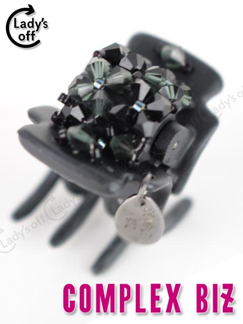 コンプレックスビズ [ COMPLEX BIZ ] フローラルアイス デザートクリップ ブラック 黒 ヘアクリップ ヘアアクセサリー