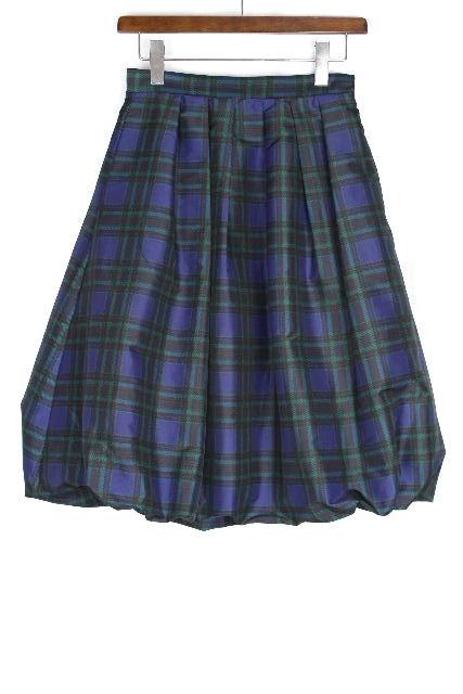 ブルーガール / ブルマリン [Blugirl ] チェック柄 フレアースカート SIZE[I40 D34] レディース ボトムス バルーンスカート