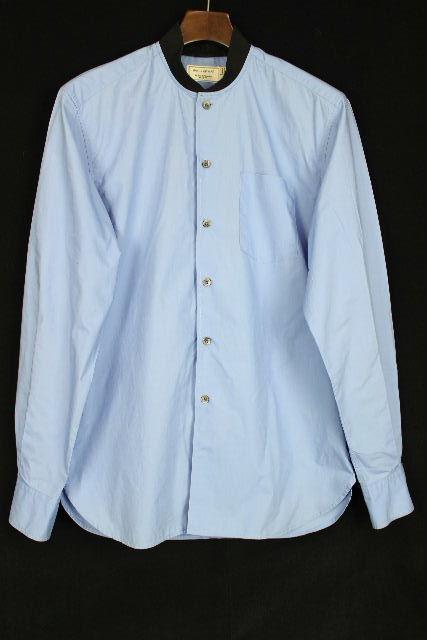 メゾンキツネ [ MAISON KITSUNE ] 16ss カジュアル シャツ ブルー 長袖 SIZE[39] メンズ トップス